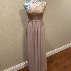 David's Bridal Junior Bridesmaid Dress